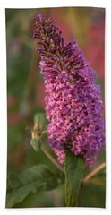 Late Summer Wildflowers Hand Towel