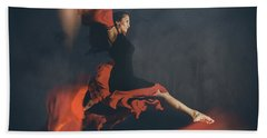 Latin Dancer Bath Towel