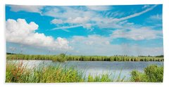 Lauwersmeer National Park. Hand Towel