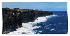 Lava Shore Hand Towel