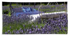 Lavender Dreams Bath Towel by Cheryl Hoyle