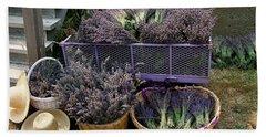 Lavender Harvest Hand Towel