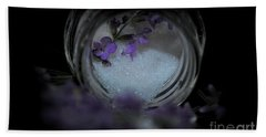 Hand Towel featuring the photograph Lavender Sugar by Marija Djedovic