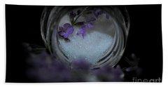 Bath Towel featuring the photograph Lavender Sugar by Marija Djedovic