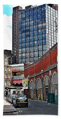 Bath Towel featuring the photograph Layers Of London by Jeremy Hayden
