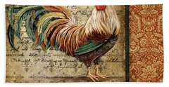 Le Coq-g Hand Towel by Jean Plout