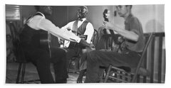 Leadbelly, White, Pete Seeger Hand Towel