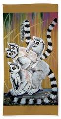 Leapin Lemurs Hand Towel