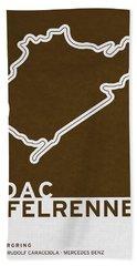 Legendary Races - 1927 Eifelrennen Bath Towel
