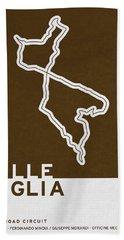 Legendary Races - 1927 Mille Miglia Bath Towel