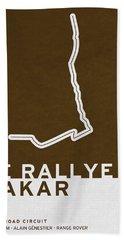 Legendary Races - 1978 Le Rallye Dakar Bath Towel