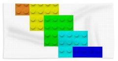 Lego Box White Hand Towel