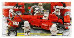 Lego Pit Stop Hand Towel