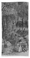 Lenox, Massachusetts, From Historical Collections Of Massachusetts, John Warner Barber, Engraved Hand Towel