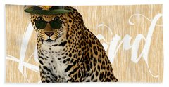 Leopard Collection Hand Towel