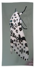Leopard Moth Bath Towel