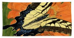 Lepidoptery Bath Towel