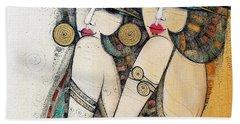 Les Demoiselles Hand Towel