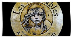 Les Miserables Hand Towel