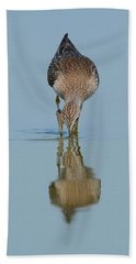 Lesser Yellowlegs Bath Towel