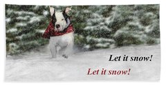 Let It Snow Hand Towel