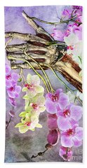 Life And Death Hand Towel
