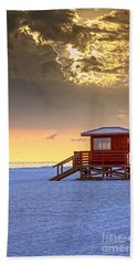 Life Guard 1 Bath Towel by Marvin Spates