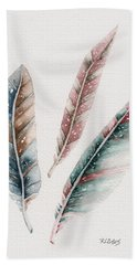 Light As A Feather Bath Towel by Rebecca Davis