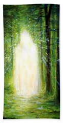 Light In The Garden Hand Towel
