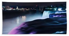 Bath Towel featuring the photograph Light Show by Mihai Andritoiu