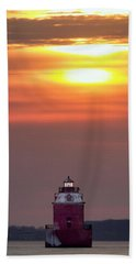 Light The Way Hand Towel by Edward Kreis