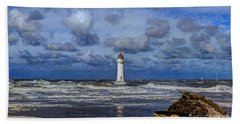 Lighthouse Hand Towel by Spikey Mouse Photography