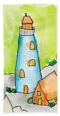 Lighthouse Hand Towel