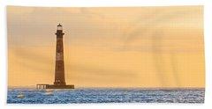 Lighthouse Sunrise Hand Towel