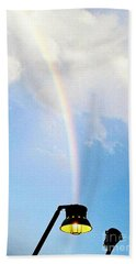 Hand Towel featuring the photograph Lighting The Spectrum  by Michael Hoard