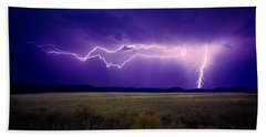 Lightning Serengeti Hand Towel