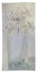 Lilac Flower Hand Towel