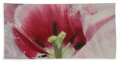 Lilicaea Tulipa Hand Towel by Claudia Goodell