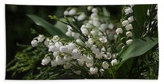 Lilies Of The Valley Bath Towel