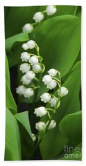 Lily-of-the-valley  Bath Towel by Elena Elisseeva