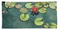 Lily Pond Hand Towel