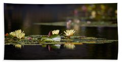 Lily Pond Bath Towel