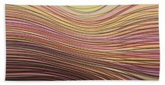 Lines And Circles -p08a Bath Towel
