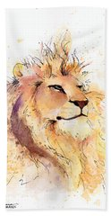 Lion 3 Bath Towel