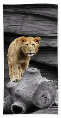 Lion Cub Bath Towel