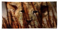 Lion Cub Hand Towel