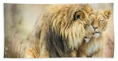 Lion Kiss Hand Towel