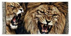 Lions Hand Towel