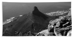 Lions Head - Cape Town - South Africa Bath Towel
