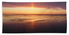 Liquid Sunrise Hand Towel